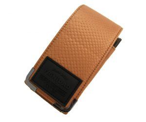 DARTS CASE【TRiNiDAD】PLAIN CROCO Mustard