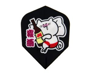 DARTS FLIGHT【 S4 】CATS Yuruneko san 4