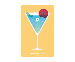 DARTS GAME CARD【DARTSLIVE】NO.1899