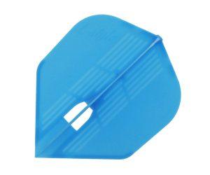 DARTS FLIGHT【L-Flight】PRO KAMI Shape Light Blue