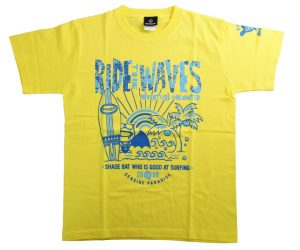 DARTS APPAREL【 SHADE 】SHADEBAT Summer T-Shirt 2020 Yellow