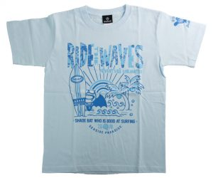 DARTS APPAREL【 SHADE 】SHADEBAT Summer T-Shirt 2020 Light Blue