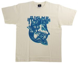 DARTS APPAREL【SHADE】T-shirt 鈴木未来 Model 2020 Ivory XL