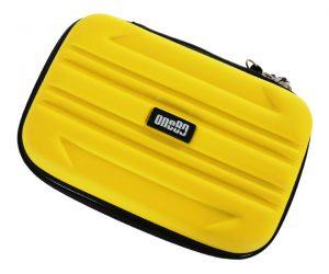 DARTS CASE【one80】SHARD WALLET STANDARD Yellow