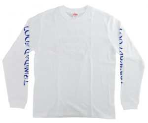 DARTS APPAREL【TRiNiDAD x Foot】2020 Long T-Shirt White M