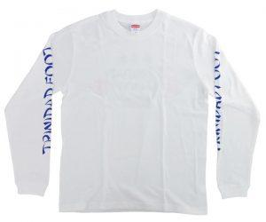 DARTS APPAREL【TRiNiDAD x Foot】2020 Long T-Shirt White XL