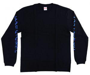 DARTS APPAREL【TRiNiDAD x Foot】2020 Long T-Shirt Black L
